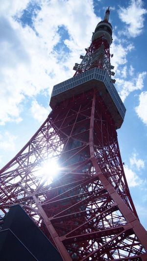 333m Tokyo Tower Architecture BCL-0980 Steel TowerLC