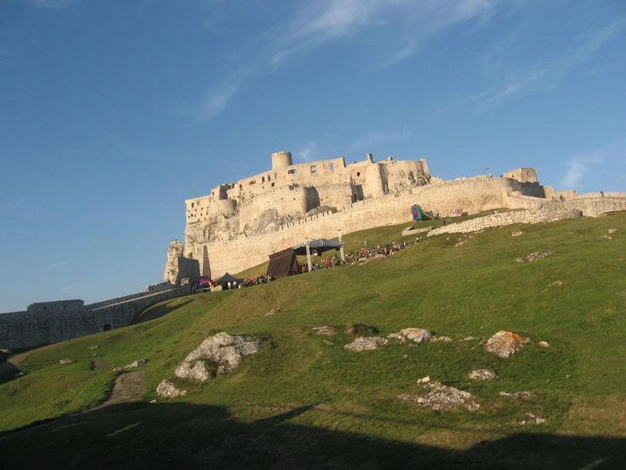 Traveling Travelling W Spissky Hrad Slovakia