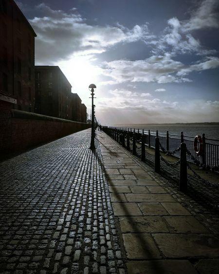 Albert Docks Liverpool, England Cloud - Sky Outdoors Sky No People Sea Day Water Cobblestone