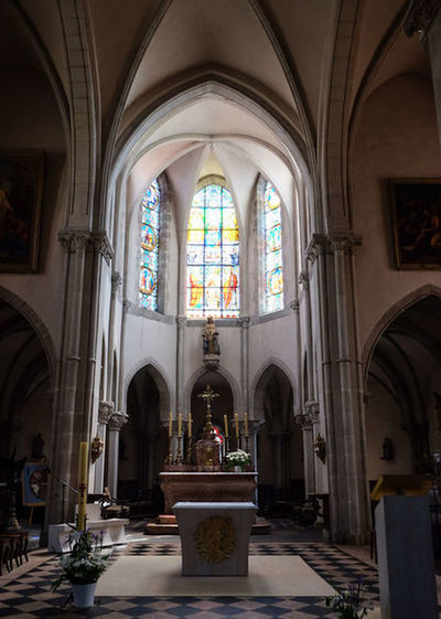 Religion Stained Glass Place Of Worship Window Spirituality Arch Tourism Travel Destinations History Architectural Column Altar Statue Architecture Indoors  No People Church WeekOnEyeEm