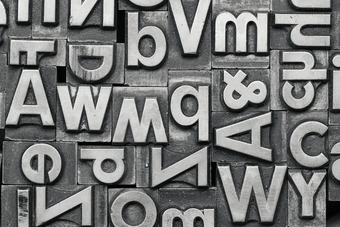 old lead letters Press Print Printing Typography Typography & Design Alphabet Backgrounds Close-up Communication Full Frame Large Group Of Objects Lead Lead Letters Letter Magazine Newspaper No People Old-fashioned Orthographic Symbol Printing Press Text Variation Vintage Words