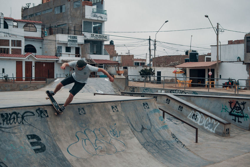 I borrowed the board from an Uruguayo who was staying with us at the hostel. The local skatepark was pretty cool actually! :) Nature Outdoors Latin America Travel Travel Destinations City Urban Balance Skateboard Park Lifestyles Leisure Activity One Person Real People Architecture Stunt Motion Skill  Sport Skate Skateboarding Urban Geometry Men Mid-air Day Building Exterior