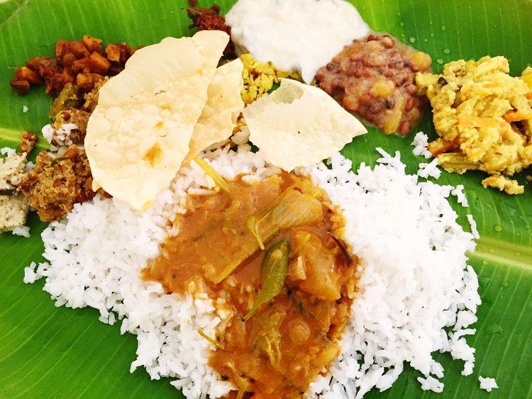 simple Onam Sadya!!! Onam Onamcelebrations Onam. Onamspecial Sadya Kerala Festival