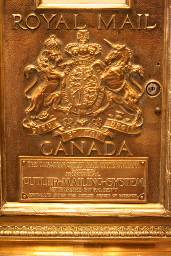 Art Backgrounds Carving Carving - Craft Product Close-up Day Design Detail Full Frame History Information Mail Box No People Old Ornate Part Of Text The Empress The Fairmont Empress Hotel The Past Western Script
