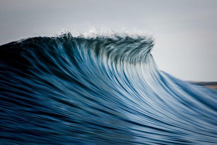 With a love so intense. Ocean Seascape Keelan Waves Blue Motion