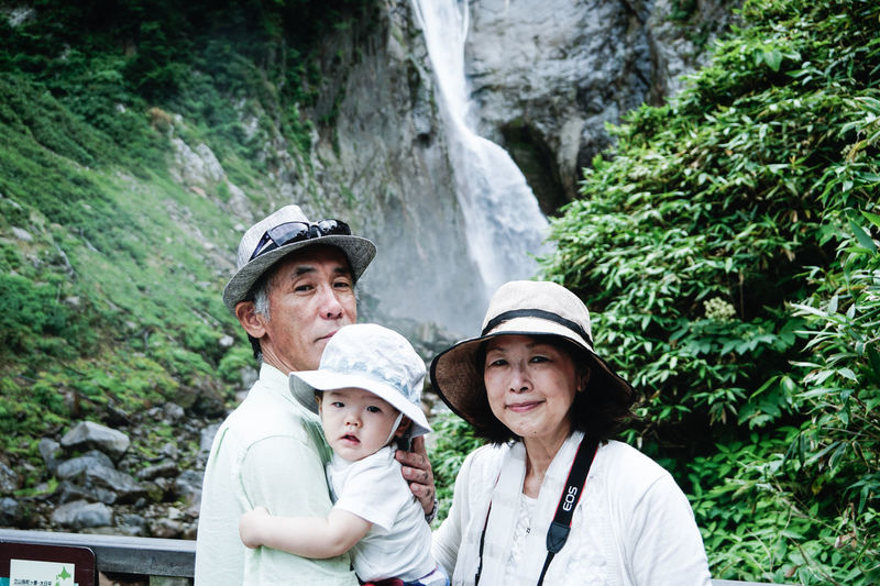 Family EyeEm Best Shots EyeEmNewHere EyeEm Nature Lover EyeEm Selects EyeEm Gallery Japan Journey Vacations Trip Nature Woman Home Beauty In Nature Headwear Portrait Togetherness Mountain Males  Tree Waterfall Happiness Baby Family Bonds 50 Ways Of Seeing: Gratitude This Is Natural Beauty Holiday Moments Human Connection A New Perspective On Life Moments Of Happiness Moments Of Happiness 2018 In One Photograph My Best Photo
