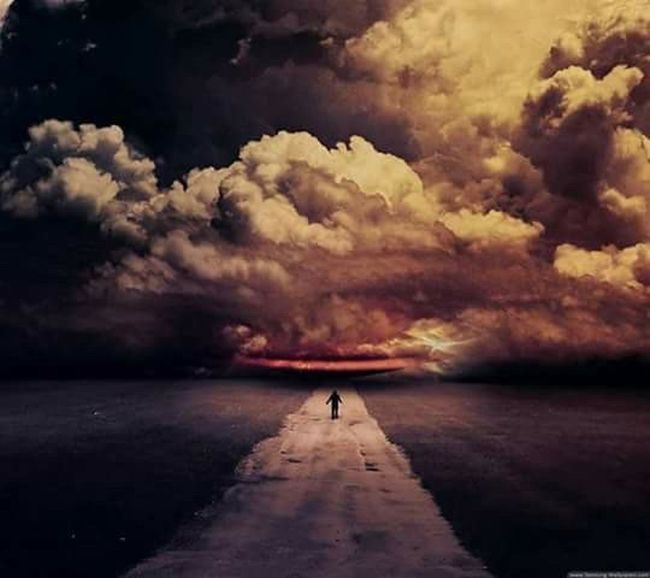 Cloud - Sky Reflection Outdoors Scenics Dark Dramatic Sky Night Sea Beach Storm Cloud One Person People Horizon Over Water Beauty In Nature Sky Nature Thunderstorm Adults Only Young Adult Adult