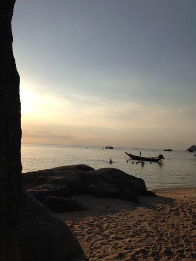 Sunset Relaxing Beach