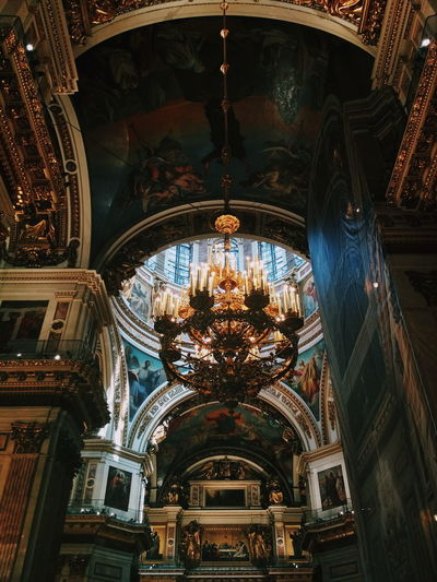 Architecture Religion Ceiling Indoors  Ornate Low Angle View Arch No People Place Of Worship Built Structure Travel Destinations Day EyeEmNewHere