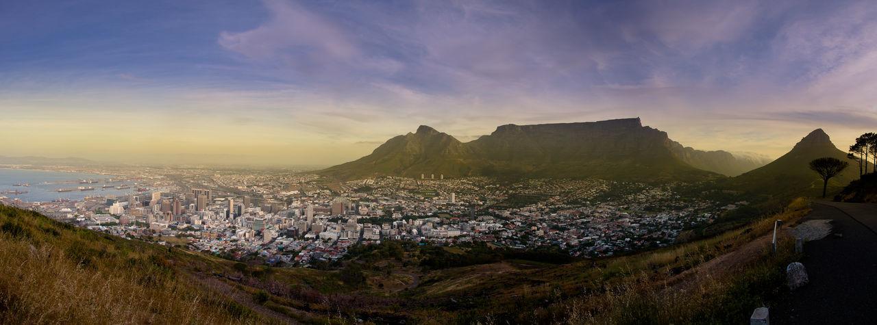 Africa Afrika Cape Town Capetown Kapstadt Kapstadt Südafrika Landscape Majestic Mountain Panorama Panoramic Photography Panoramic View Scenics Signal Hill Signalhill South Africa Südafrika Table Mountain Tablemountain