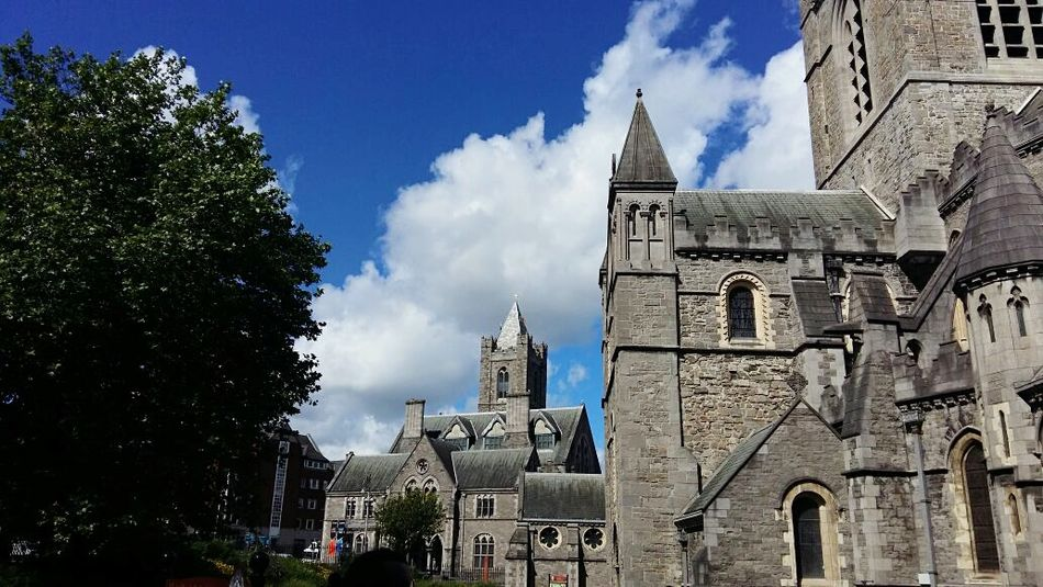Architecture History Travel Destinations Tower Tree Religion Clock Tower Building Exterior Gothic Style Built Structure Business Finance And Industry Old Town Outdoors Cloud - Sky Town Blue No People Place Of Worship Day City Greenwarden EyeEmNewHere
