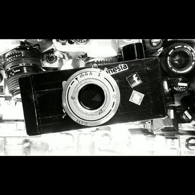Evolusi Pinhole Panorama 35mm Ishootfilm buyfilmnotmegapixel analog bnw monochrome