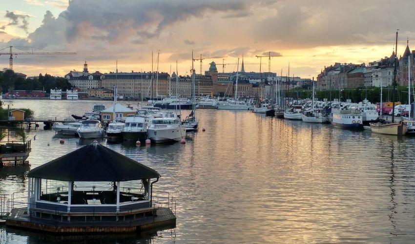 Swedish summernight, Stockholm is fantastic!❤ Enjoying Life Sweden Beautifulstockholm Stockholmnight Seaside Lifeisbeautiful Friends Family