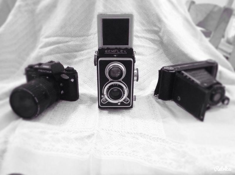 More old/vintage camera photos :)
