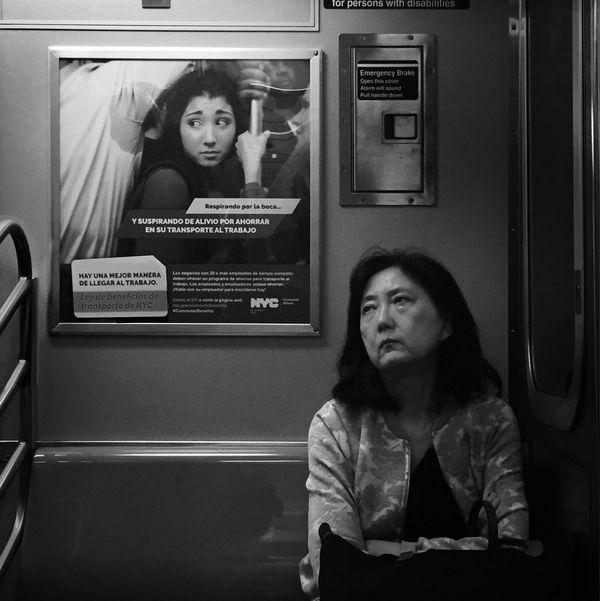 Iris Shootermag New York City This Week On Eyeem EyeEm Best Shots Street Photography NYC EyeEm Best Shots - Black + White Subway Hipstamatic The Street Photographer - 2017 EyeEm Awards