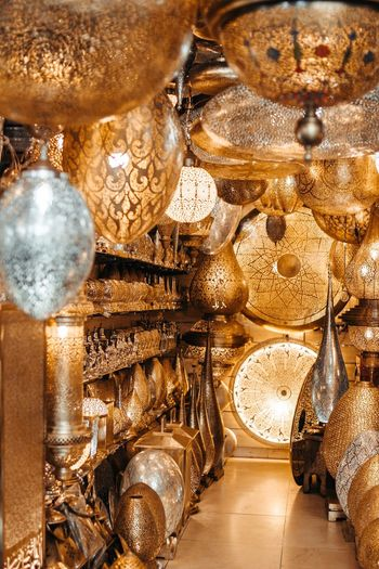 Various decoration in store