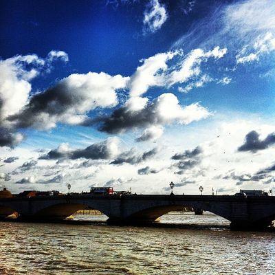 Putney bridge #london #thames #sky #iphone4 #instagram #iphoneography #photography # IPhoneography Sky London Photography Instagram Thames Iphone4