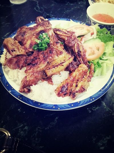 Yummy Dinner Chicken Vietnamese Food Pork Chops Short Ribs