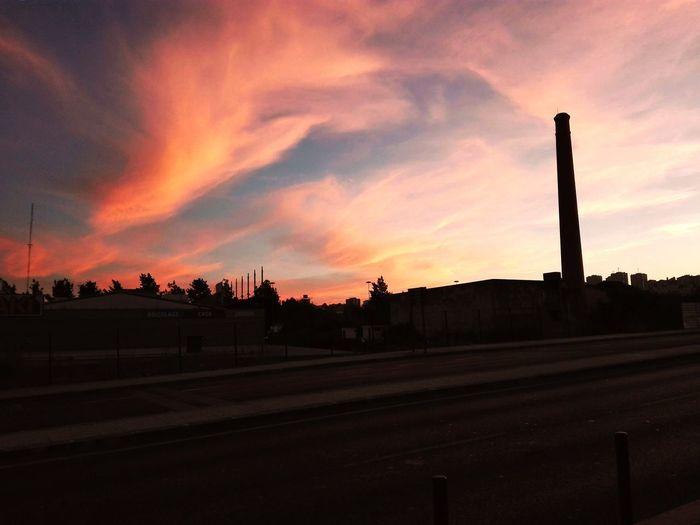 The clouds are over us! City Sunset Dramatic Sky Sky Architecture Cloud - Sky Urban Scene Cityscape Skyline