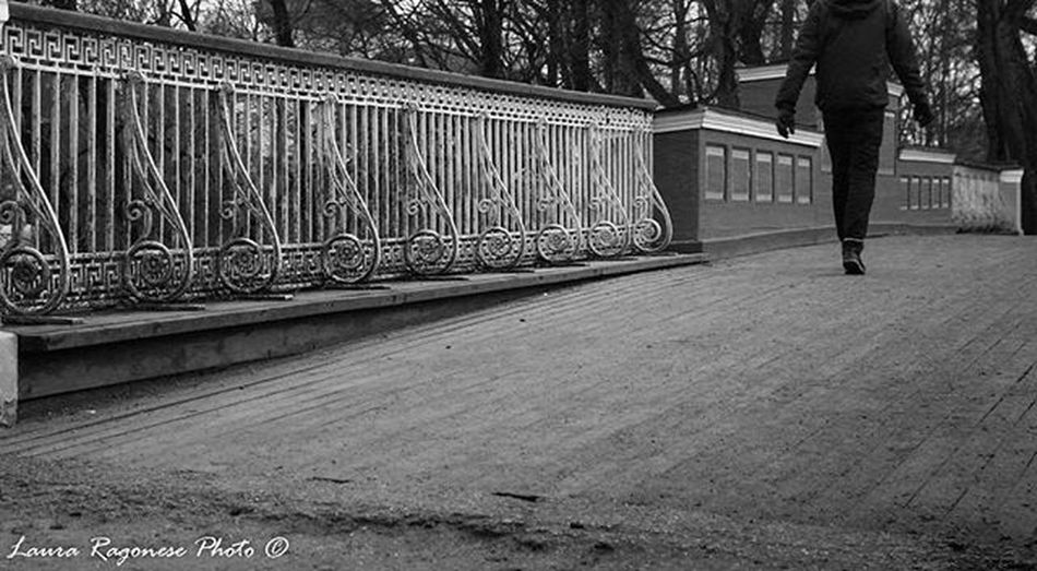 Walk away... Angelbridge Devilbridge Tartu Estonia Photo Blackandwhite Myfav