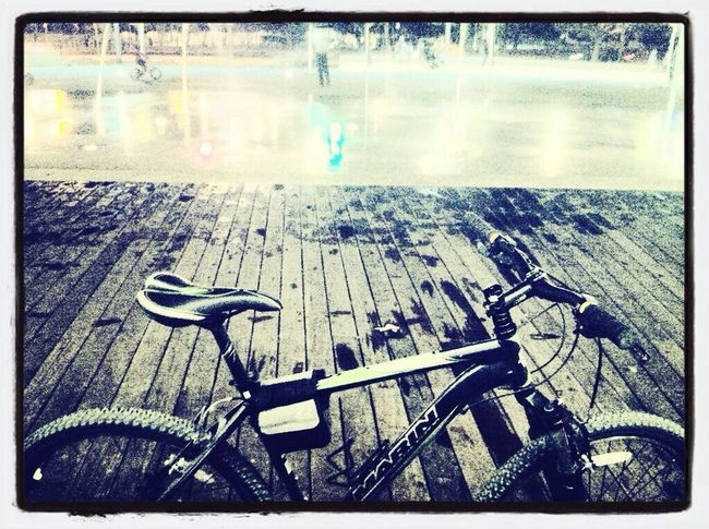 Bicycle Deck Black And White Winter