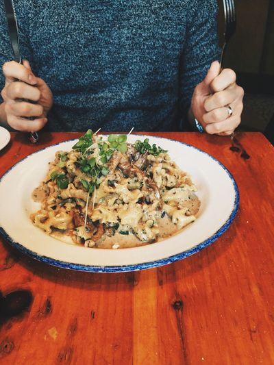 Pasta Pasta With White Truffles Brunch Italian Food