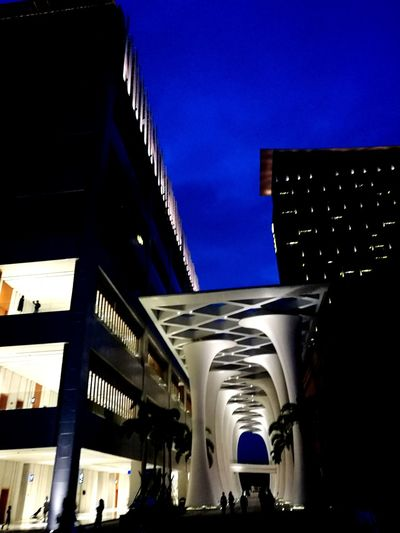 建筑之美 Architecture Travel Built Structure Blue City Building Exterior Travel Destinations Business Finance And Industry Sky Illuminated Outdoors Skyscraper Day No People