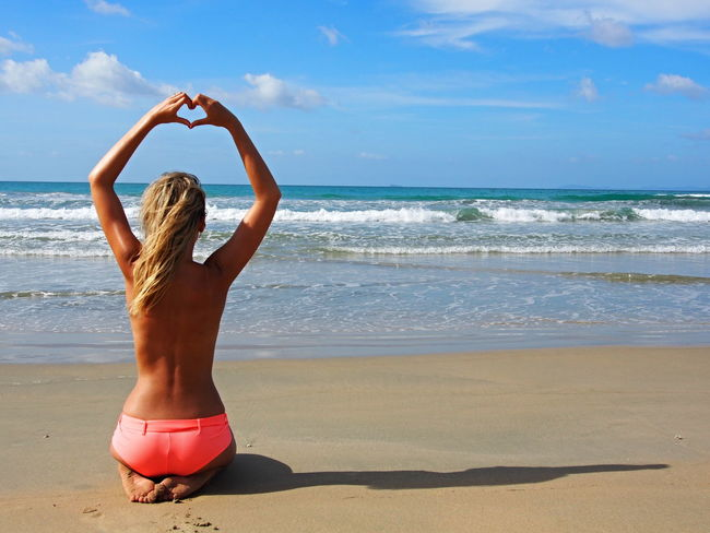 Arms Raised Beach Beachlife Beachphotography Beauty In Nature Blondgirl Bluesky Czechgirl Girlonthebeach Horizon Over Water Nature Nobikini Nobikiniseason Philippines Philippines Photos Sand Sea Sky Sunlight Travelgirl Traveling Vacations Water Wave Live For The Story