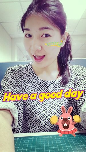 Morning~ have a good day. Goodmorning Monday Girl