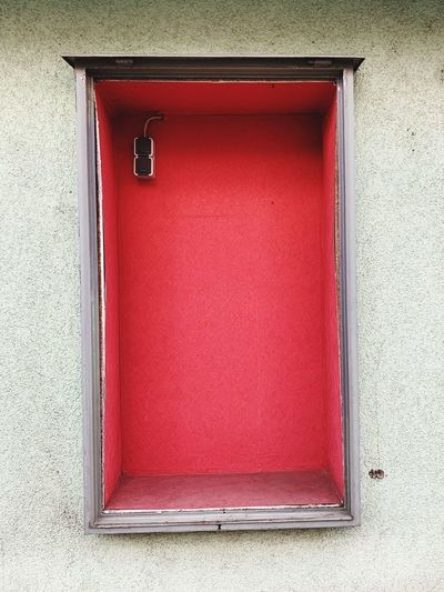 Rectangle Empty Container Box Red Built Structure Building Exterior Architecture Closed Wall - Building Feature No People