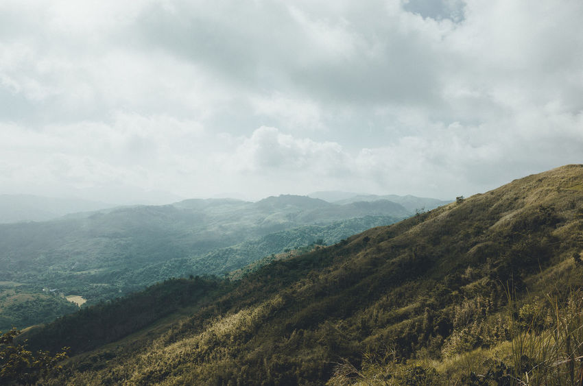 Batolusong Beauty In Nature Eyeem Philippines Landscape Mountain Mountain Range Nature No People Outdoors Scenics