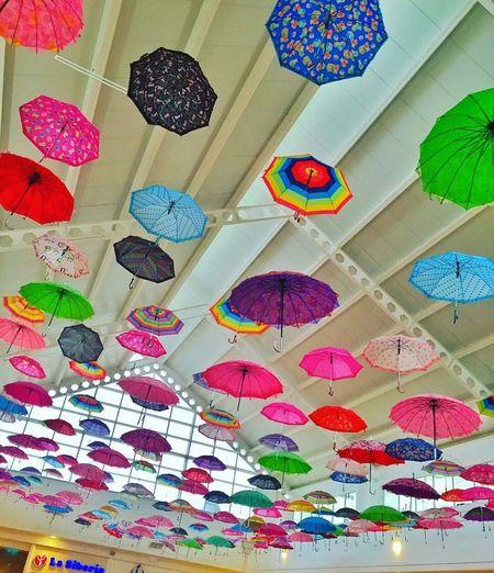 Multi Colored Umbrellas Decoration Good Ideas Ilovephotography