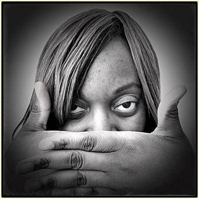 """Now You See Me"" Portrait Blackandwhite Monochrome Black And White B&W Portrait The Portraitist - 2015 EyeEm Awards Monochrome Photography"