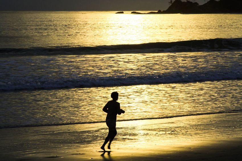 Sea Sunset Water Silhouette Beach Scenics One Person Nature Horizon Over Water Beauty In Nature Sunlight Reflection Real People Leisure Activity Full Length Tranquil Scene Tranquility Outdoors Vacations Sunrise Byron Bay Beachphotography Morning Sky Beach Life Morning Live For The Story