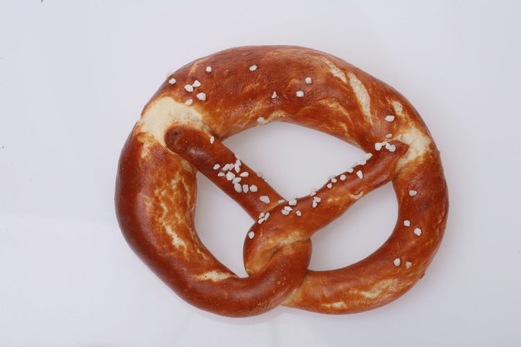 Baked Bread Close-up Donut Food Food And Drink Freshness German Food Glazed Food No People Pretzel Ready-to-eat White Background