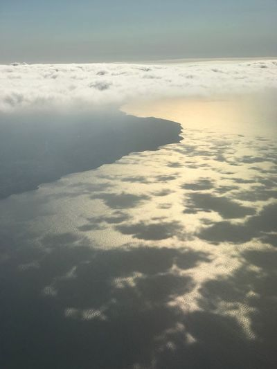 Gökyüzü kadar mavi misin gönlümde Beauty In Nature Water Scenics - Nature Nature Tranquility Sky EyeEmNewHere Sea Beach Land Sunlight Cloud - Sky Tranquil Scene EyeEmNewHere