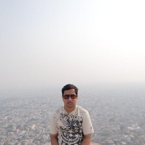 Me at the top NahargarhFort Jaipur Rajasthan India Instagood Picoftheday Photooftheday Igindia All_shots Igindia