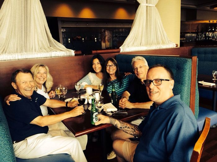 Hail, hail the Gang's all here!!!!! TheGathering ExpensiveWinos Streamzoofamily IPhoneography