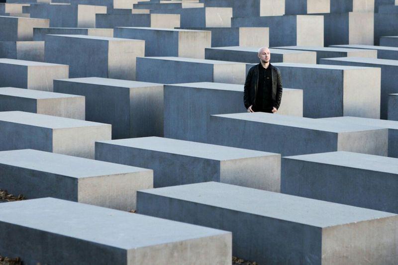 Myhusband Captured Moment Icallthisart I Love My City Inpirationallover Berlin Jewish Memorial Octoberweather