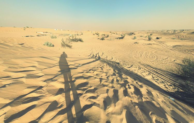 Shadow Landscape Sand Desert Sunlight Outdoors Day Nature No People Beauty In Nature Scenics Sand Dune Sky