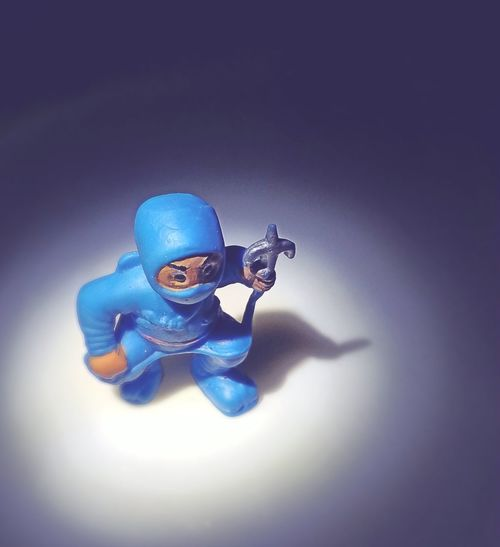 Return of Blue Ninja. Colorful Shootermag Eye4photography  EyeEmBestPics EyeEm Best Edits Blueninja (null)Action Figures Blue