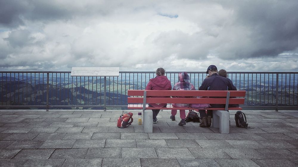 Cloud - Sky Sky Outdoors Sitting Nature People Nature Taking Photos Clouds And Sky Photography Mountain nice view StreetLife_Award Outside Photography Outdoor Photography Hoher Kasten