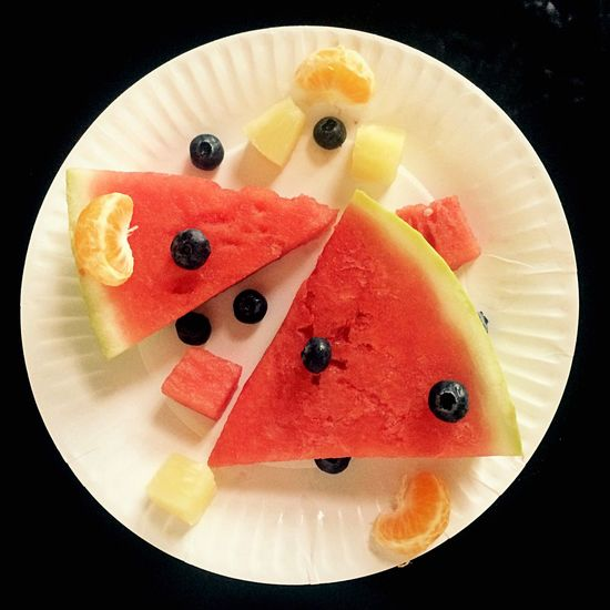 Fruits 👌 🍉 Fruit Food And Drink Blueberry Food SLICE Sweet Food Dessert Healthy Eating Freshness Plate No People Watermelon Ready-to-eat Temptation Close-up Frozen Food Ice Cream Indoors  Flavored Ice Black Background
