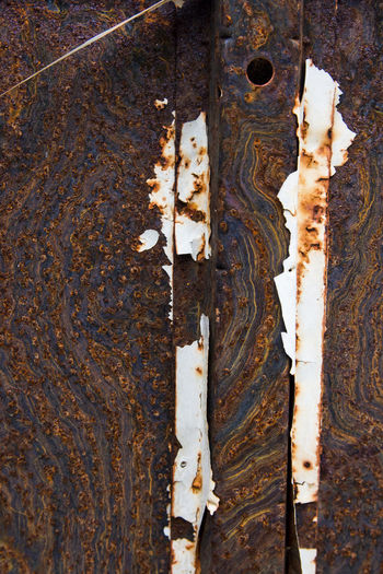 Beautiful Nature Patterns In Nature Textures And Surfaces Urban Exploring Close-up Day No People Outdoors Rust Metal Rusty Textured  Worn Out