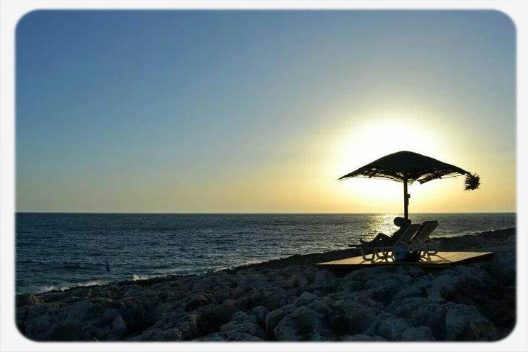 Sunset at Porto Roxa Beach Zakynthos