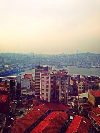 Enjoying The View Istanbul