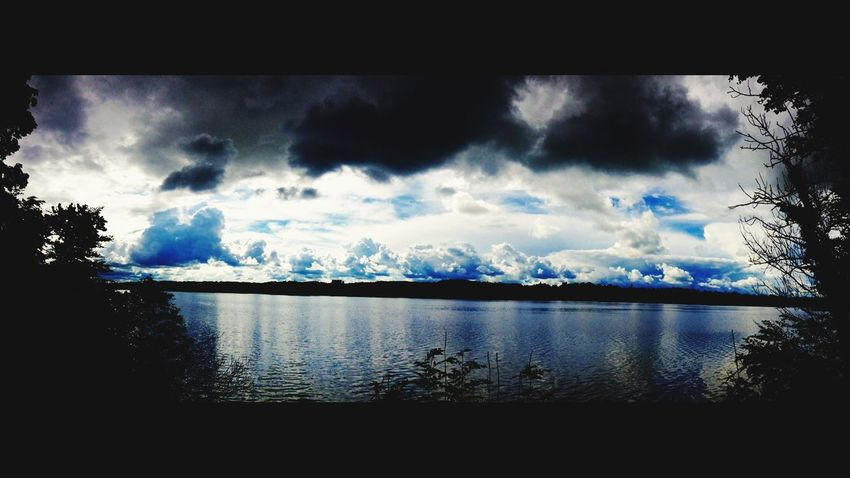 Skyporn Sky Cloud - Sky Lake No People Nature Reflection Water Beauty In Nature Backgound Idyllic Awesome Wicked Heaven Clouds Cloudporn Art Filter Outstanding Day Sun Reflection Shining Mood Beautyful