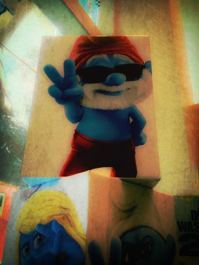 Spotting Smurfs EyeEm X Vice Do Frame It!