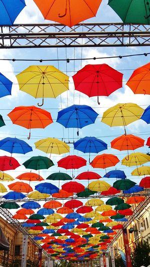 Saint Petersburg No People Umbrella Multi Colored Day
