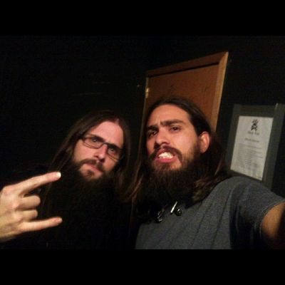 Finally I meet Zatorsky, @Daath ( vocals) and now back vocals and samples on @chimaira Finalmente conoci a Zatorsky, vocalista de @Daath y ahora samples y teclado en @chimaira Alfredbass Lethalfan Beardbassplayer Zatorsky chimaira